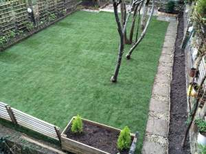 Turfing in Highbury East N5 after - Ivan and Sons North London Gardeners