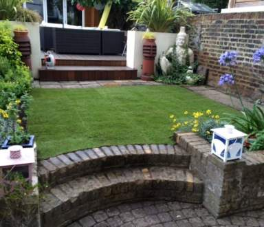 Turfing in Highbury N7 after - Ivan and Sons North London Gardeners