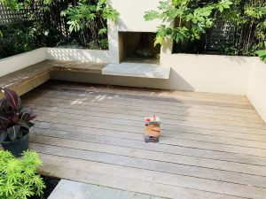 Decking Staining North London