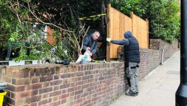 Garden Fencing North London