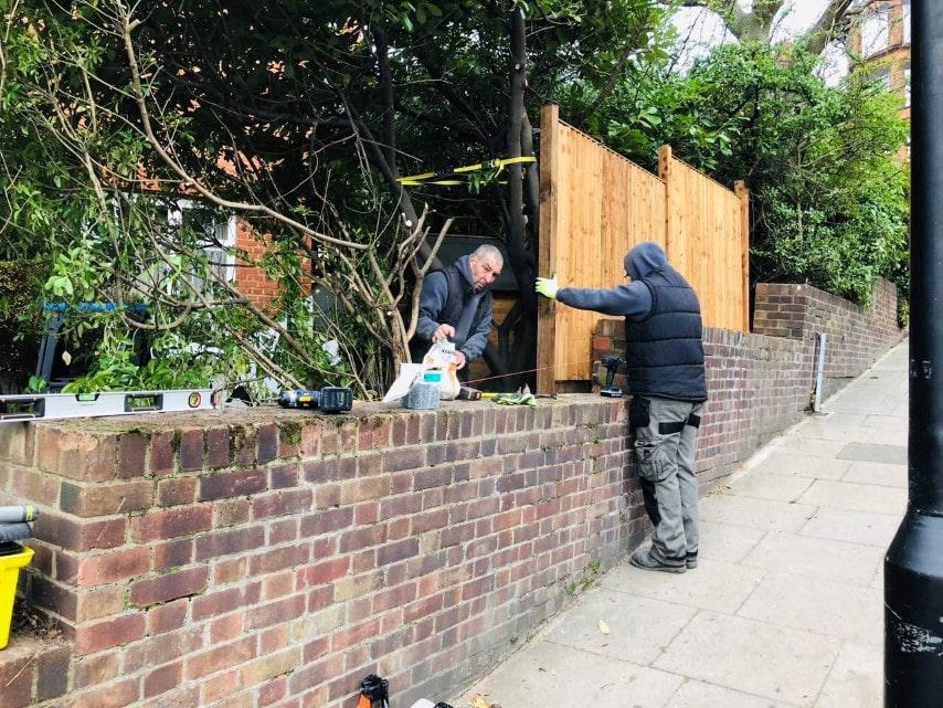 Garden Fencing North London