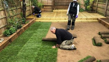 Garden Turfing in North London