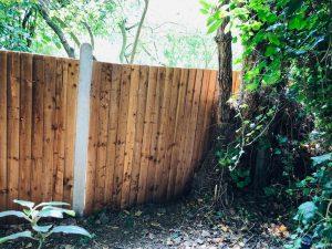 Garden fencing North West London