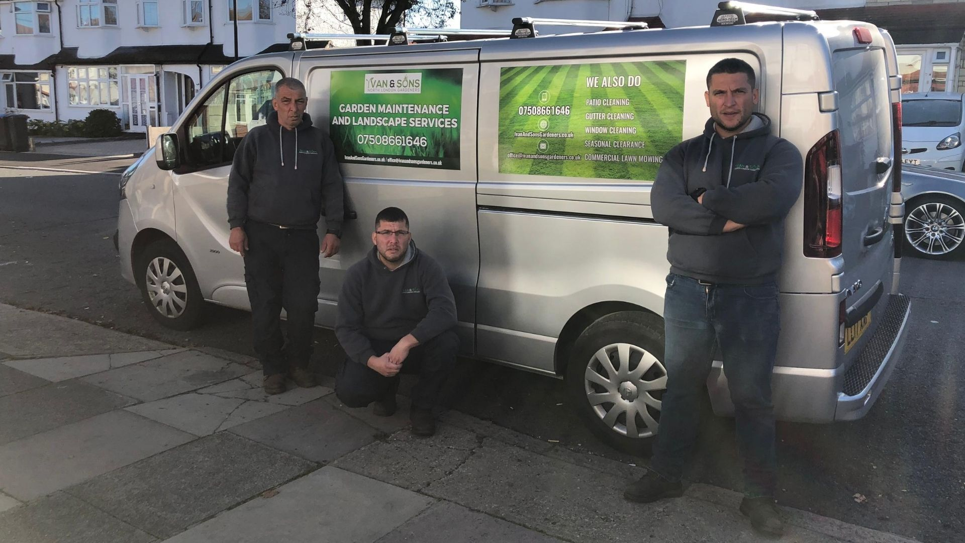 Ivan and Sons Gardeners North London