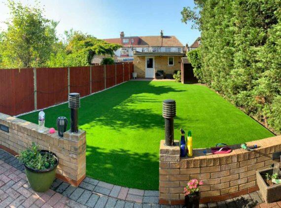 artificial grass installation in Palmers Green